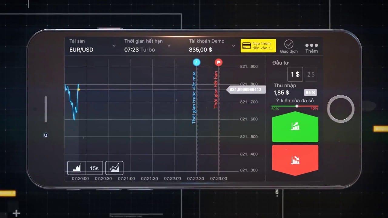 Binomo aplikasi untuk Android dan IOS