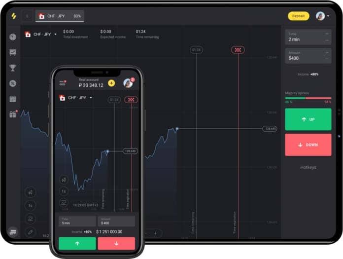 binomo bonus in app